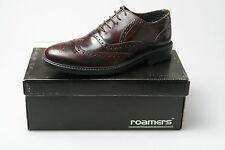 Zapatos de vestir de hombre en color principal rojo de piel
