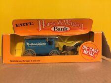 Ertl Montgomery Ward Horse & Wagon Diecast Coin Bank