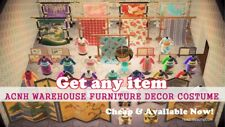 ACNH Warehouse 🔥 Any Furniture Decor Costume 🔥 Animal Crossing New Horizons