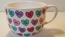 kitchen Home Ceramic Coffee Tea Mug Hearts, HOLIDAY, Christmas GIFT