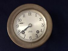 Vintage 1940s Chelsea Ship's Bell Clock Boston