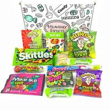 American Sour Candy Hamper Gift Box | USA Sweets | Warheads Sour Jelly Beans