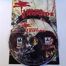 Dead Island Riptide (PC, 2013)  INCLUDES INSERT AND ACTIVATION CODE #1582