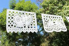 Papel Picado - Mexican Party Banners - Bodas / Weddings (Papel China)