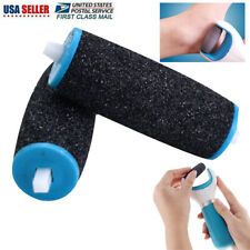 2Pcs Electric Callus Hard Skin Remover Roller Head Replacement Feet Care Tool