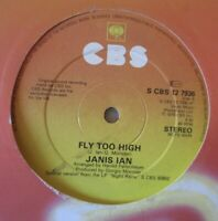 "JANIS IAN - Fly Too High ~ 12"" Single"
