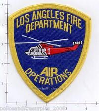 California - Los Angeles CA Fire Dept Air Operations Fire Dept Patch