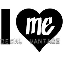 I Love Me Heart Vinyl Sticker Decal Cute Funny - Choose Size & Color