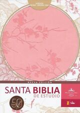 Santa Biblia de Estudio Serie 50 RVR 1960 by Zondervan Staff (2013, Leather)