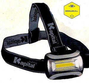 Linterna de cabeza Frontal Marca Kapital