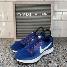 Nike Air Zoom Pegasus 34 Women's Running Shoes Sz 9 Blue 880560 410