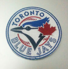 "Toronto Blue Jays Logo Iron On Patch 3 1/2"" Free Shipping by Envelope Mail"