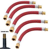 Flexible car bike bed toy football adapter valve pump connector Schrader Presta