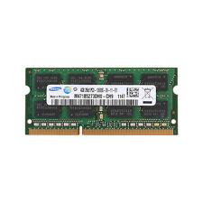 New Samsung 4GB PC3-12800 DDR3-1600Mhz 204Pin Unbuffered Sodimm Laptop Memory