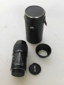 Nikon Tokina AF 70-210mm f/ 4.5-5.6 Lens w/ Hoya UV Filter & Hard Case