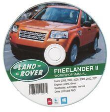 Land Rover Freelander II (2006-2011) Manual de Taller Workshop Manual