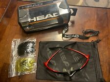Head Raptor Protective Eyewear | Black & Red - Everything included - Euc.!
