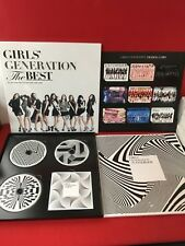 USED ​​SNSD GIRLS 'GENERATION The BEST Japan Limited 2CD + BD Booklet TC F/S