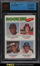 1977 Topps Dale Murphy ROOKIE RC #476 BVG Altered