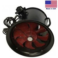 """12"""" Portable Explosion Proof BLOWER - 2719 CFM - 120 Volt - 1 Ph - 3/4HP - Axial"""