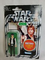 "Star Wars Retro Collection Han Solo 2019 Action Figure 3.75"" Kenner Hasbro New"