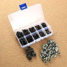 1 caja 6 - 12 mm negro seguridad ojos oso de peluche muñeco Animal arte DIY