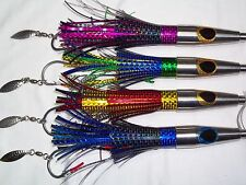 High Speed Wahoo Lures (4 Pack)- 0-14 knots -sub-surface action