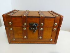 Wooden Chest Jewellery Box