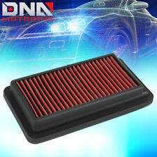 FOR 2016-2019 HONDA CIVIC/CR-V 1.5 RED HIGH FLOW ENGINE DROP-IN AIR FILTER PANEL