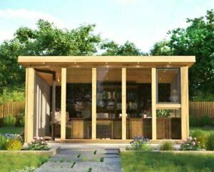 Oak Framed Garden Office and Studio 4m x 2.5m.
