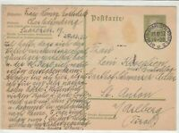 germany 1932 stamps card ref 18940