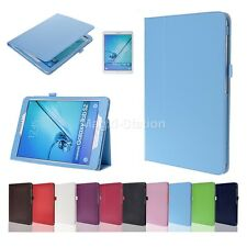 Slim Folio PU Leather Cover Case for Samsung Galaxy Tab S2 9.7'' inch