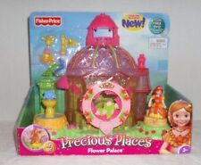 Fisher Price Precious Places Flower Palace Includes FREE DVD ~NEW~