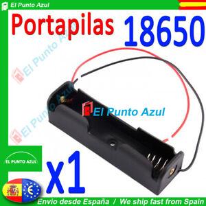 Portapilas para pila18650 x1 pcs★Battery Holder for 18650 3.7 voltios Bateria