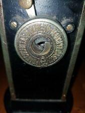 Vintage EL CASCO EIBAR ESPANA Pencil Sharpener Black/Gold Plated
