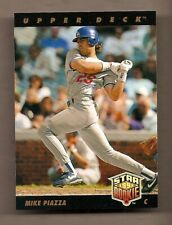 1993 UPPER DECK MIKE PIAZZA ROOKIE CARD #2 - NM/MINT CONDITION - DODGERS