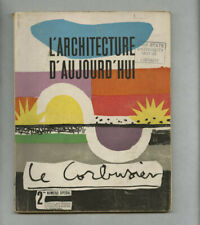 1948 Le Corbusier Designed 116-page Special Issue ARCHITECTURE D'AUJOURD'HUI mag