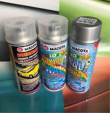 Kit Macota Colore ALLUMINIO BRILLANTE 9006 + Trasparente + Primer Aggrappante