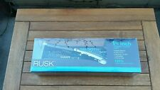 Rusk Professional Hair Straightener 100% Ceramic Flat Iron 1 1/2 Inch STR8 446 F