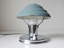 Lampe bureau champignon en métal Bauhaus vintage années 50 design 1950