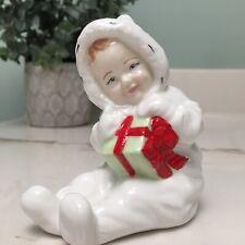 Royal Doulton Baby's First Christmas Gift Figurine Decor Bone China England