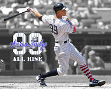 """NEW YORK YANKEES Aaron Judge Unsigned Photo 8x10 #2 """"ALL RISE"""""""
