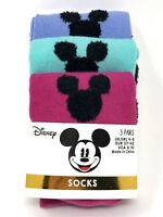 3 Paar Disney Damen Socken Mickey Mouse Minnie Maus Fan Strümpfe Bunt 37-42
