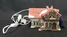Rare Vtg 1987 Department 56 Alpine Village Series Josef Engel Farmhouse Euc