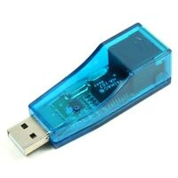 USB 2.0 Ethernet 10/100 Network LAN RJ45 Adapter X6A4