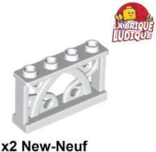 10 X 1x4x2 Valla Barrera de barra amarilla con tachuelas 4083-Tren Granja Ciudad Nuevo LEGO