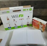 Nintendo Wii Fit Balance Board Original Box Bundle: Wii active personal trainer