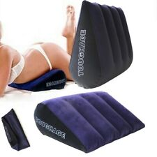 Sex Pillow Aid Inflatable Love Position Cushion Couple Furniture Bounce Chair US