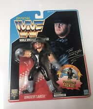 Wrestling WWF Hasbro Undertaker Figure Blue Card Series 4 WWE Sealed 1992