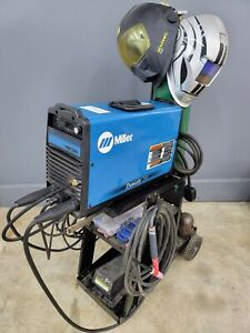 Miller Dynasty 200 SD Tig Welder - weldcraft torch - foot pedal